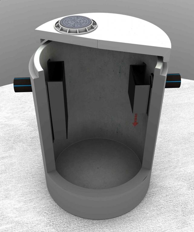 Separator tłuszczu betonowy OKSYLIP-BP