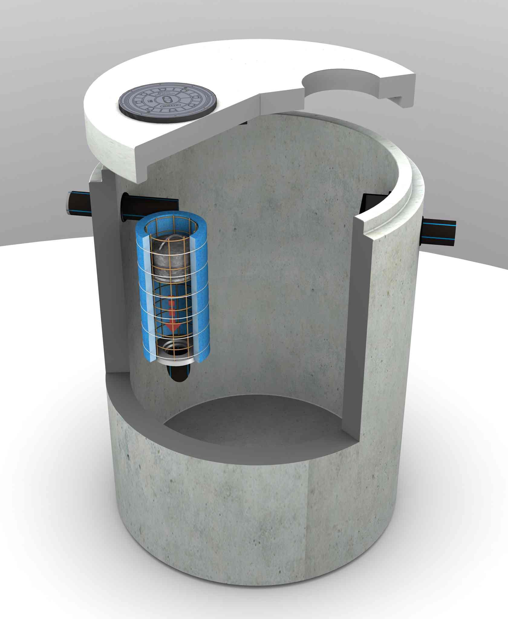 Cudowna Separatory substancji ropopochodnych, stalowe, betonowe XW57
