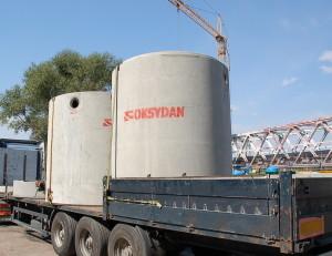Zbiorniki betonowe